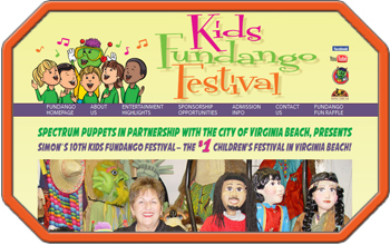 Virginia Beach Kids Fesival Website