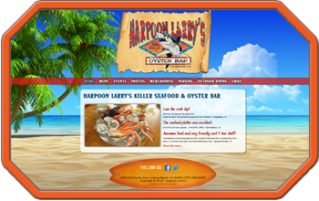 Harpoon Larrys Website